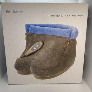 Brook stone Massaging Foot Warmer Booties w/ Heat